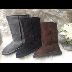 ‼️Clearance ‼️Faux suede calf high boot